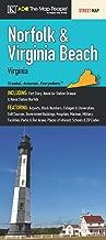 Norfolk & Virginia Beach, VA Fold Map