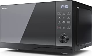 SHARP YC-GC52FUB - 900W 25L Flatbed Combination Microwave, Electronic control, 11 Power Levels, Black