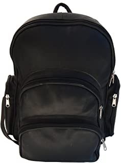 Expandable Backpack, Black, One Size