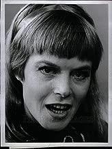 Historic Images - 1969 Vintage Press Photo Shani Wallis actress and singer - DFPD21411