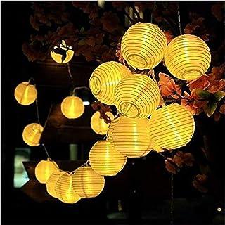 Solar Garden Lights - Hanging Lantern 30 LED Waterproof Solar String Decorative Lights Indoor/Outdoor Lighting Courtyard W...