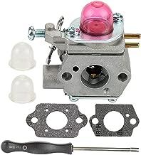 Coolwind WT-973 Carburetor with Adjustment Tool for Troybilt TB21EC TB22EC TB32EC TB42BC TB80EC Bolens bl110 MTD 753-06190 Weedeater Trimmer