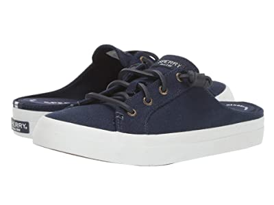 Sperry Crest Vibe Mule Canvas (Navy) Women