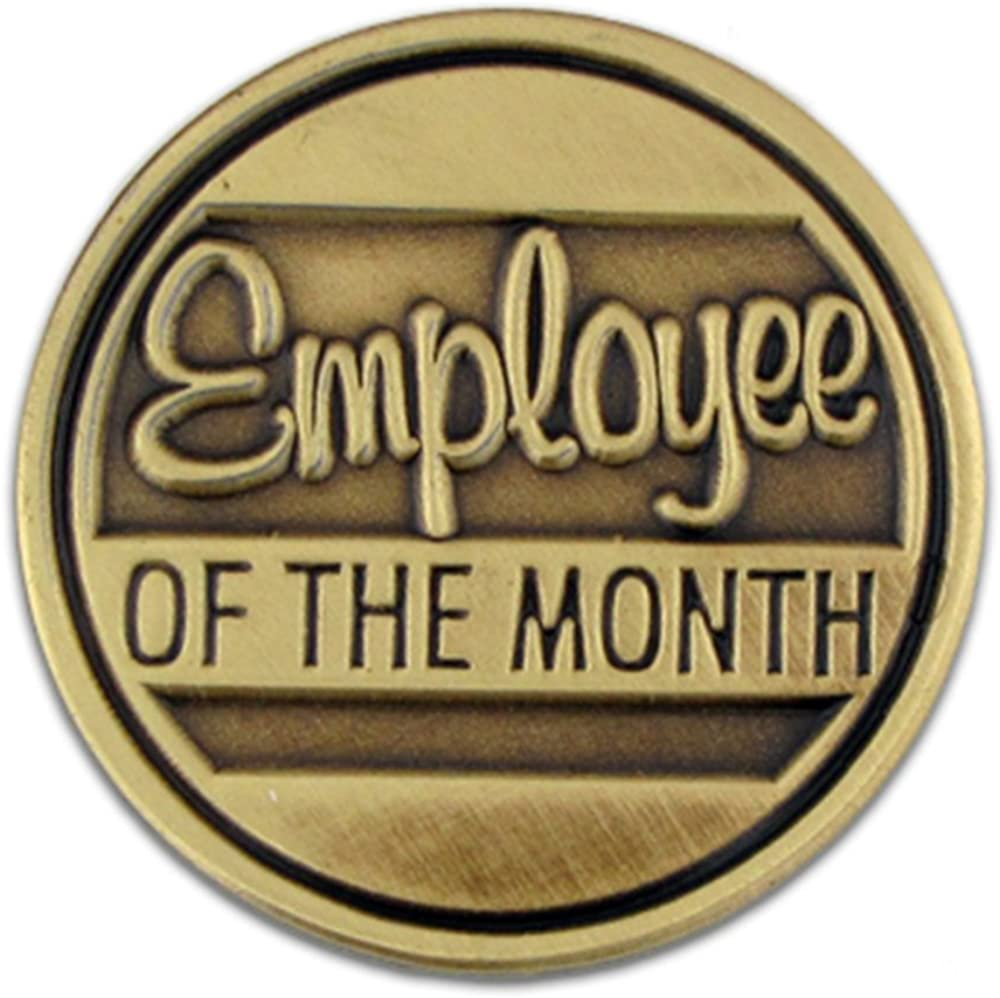 PinMart Employee of The Month Corporate Recognition Lapel Pin