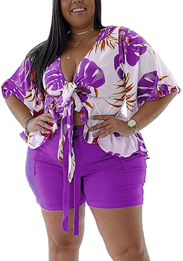 Women's Plus Size 2 Discount mail order Piece Outfits Sweatsuit Sets Sale Special Price Bod Long Sleeve