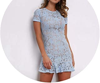 Summer White Dress Women Hollow Out Sleeveless Funnyy Bodycon Dress Elegant Skinny Floral Pattern Lace Dresses