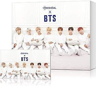 [MEDIHEAL] MEDIHEAL X BTS Facial Mask Sheet Special Set/Mask Sheet 10ea + BTS Photocard 14ea (03 Moisture Barrier Care)
