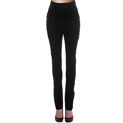 f9f31c6f698e6 BLACK Skinny Maternity Jeans, UK Size 14 - Petite 28