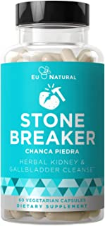 Stone Breaker Chanca Piedra – Natural Kidney Cleanse & Gallbladder Formula – Detoxify Urinary Tract, Flush Impurities, Cle...