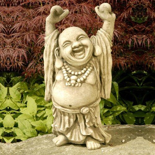 Kretakotta lachender Buddha mit erhobenen Händen