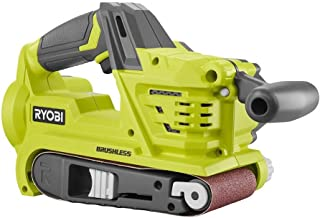 Ryobi P450 One+ 18V Lithium Ion 3 x 18 inch Brushless Belt Sander w/ Dust Bag and Included Sanding Pad (Battery Not Includ...