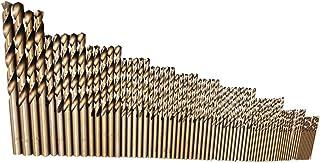 Cobalt Drill Bit 74Pcs Spiral Drills HSS Co Steel Straight Shank 1-8mm Drill Bit