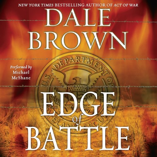 Edge of Battle audiobook cover art