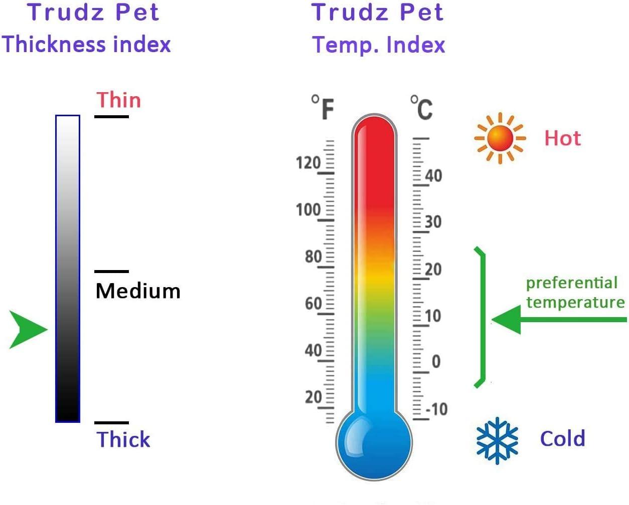Cotton Jacket Coat for Samll Dog /& Medium Dog /& Cat Trudz PET Security Dog Hoodies Rdc Pet Apparel Autumn /& Winter Sweatshirt Warm Sweater