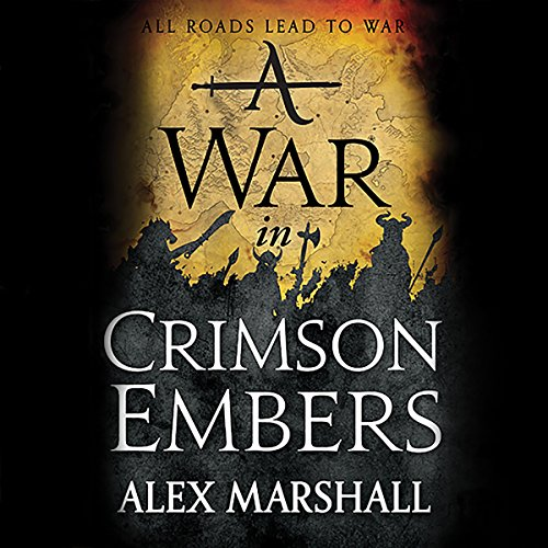 A War in Crimson Embers cover art