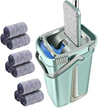 Mop Self-Twisting Squeeze Non-Contact Flat Floor Washing Bucket Magic Cleaner Double-Sided Household Cleaning Automatic Dr...