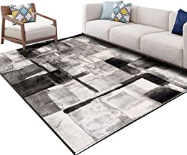ZENGAI Corridor carpet Runner Rug Hallways Living room bedroom carpet Coffee table pad Home Non-slip Customizable size Geo...