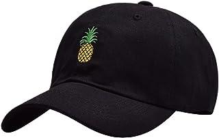 MINAKOLIFE Mens Pineapple Dad Hat Baseball Cap Polo Style Unconstructed