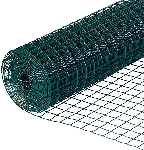 Lsooyys Chicken Wire Mesh for Crafts and Outdoor Projects 24' x6m Rust-Proof Galvanized Hexagonal Wire Net