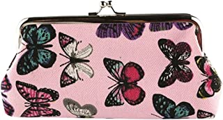 Toraway Wallet, Lady Vintage Butterfly Mini Hasp Coin Purse Wallet Clutch Bag