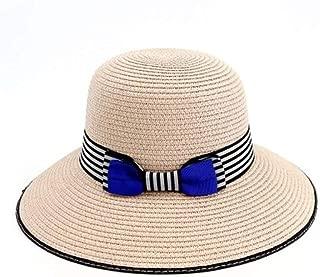 New Straw hat Outdoor Beach hat Sunscreen Visor Sun hat Wild Straw hat