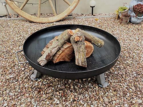 Czaja Stanzteile Feuerstelle Bonn Ø70cm - ohne Wasserablaufbohrung - Feuerstelle für Draußen, Feuerschale für Terrasse und Garten