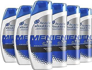 Head & Shoulders Men Ultra - Shampoo per pulizia profonda, confezione da 6 (6 x 250 ml)