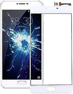 Fixa telefondelar renovera För meizu u20 pekskärmstillbehör (Color : White)