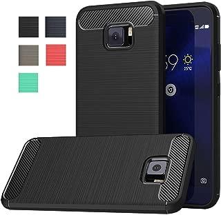 Asus Zenfone V V520KL Case [Not Compatible Zenfone V Live], Dretal Carbon Fiber Shock Resistant Brushed Texture Soft TPU Full-Body Protective Case Cover for Asus Zenfone V V520KL (5.2