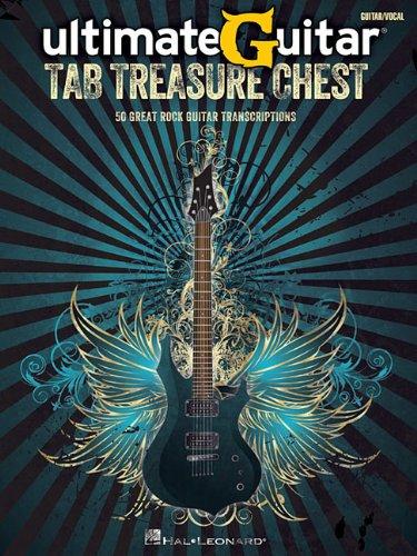 Ultimate Guitar -Tab Treasure Chest-: Songbook, Tabulatur für Gitarre: 50 Great Rock Guitar Transcriptions