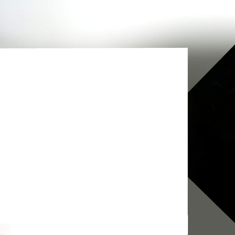 3mm PLEXIGLAS/® Platte 50x50 cm satiniert Milchglas