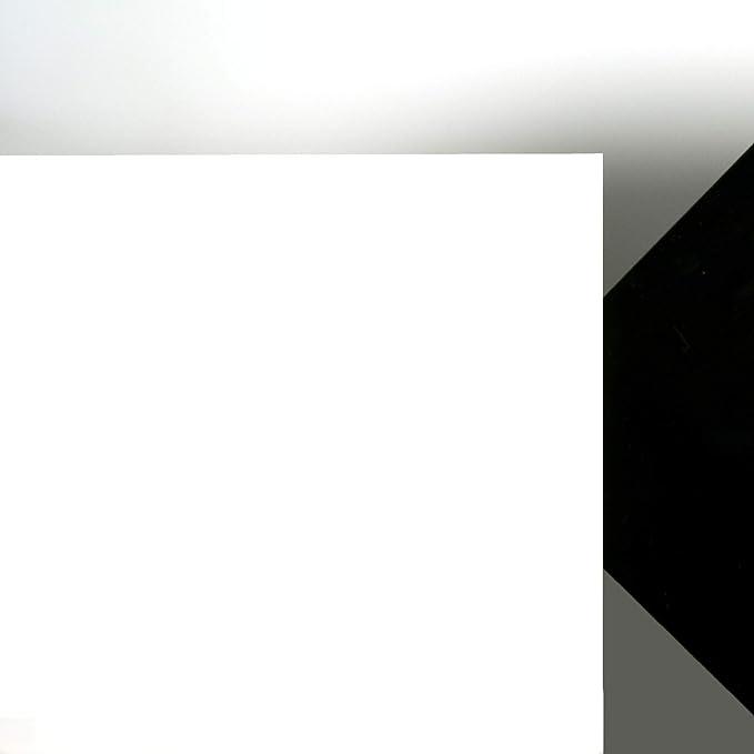 5mm Acrylglas Platte 70x50 cm schwarz opak