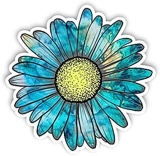 Adesivo de flor de margarida de vinil da Junkie Graphics para carro, caminhão, janelas, laptop, qualquer superfície lisa à...
