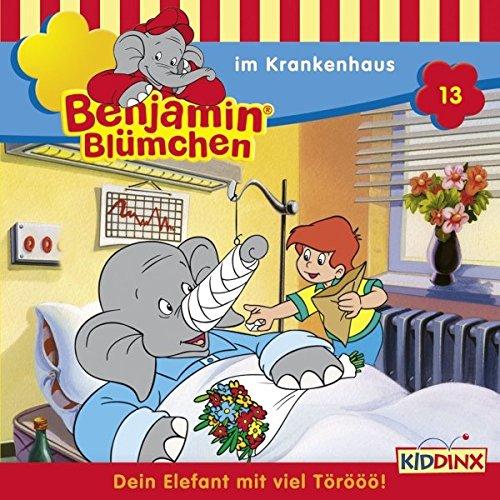 Benjamin im Krankenhaus audiobook cover art