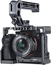 Camera Cage for Sony A7III/A7RIII/M3 Standard Arca-Style Quick Release Plate + Top Handle Grip Accessory Kits for Sony a7iii Series