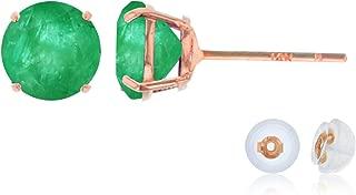Best genuine emerald stud earrings Reviews