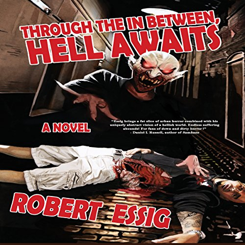 Through the In Between, Hell Awaits audiobook cover art