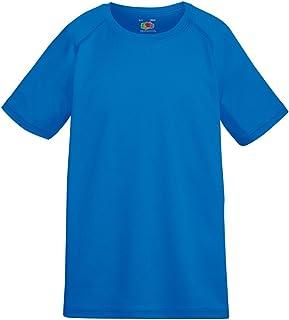 Fruit Of The Loom Childrens Unisex Performance Sportswear T-Shirt (UK Size: 3-4) (Royal)