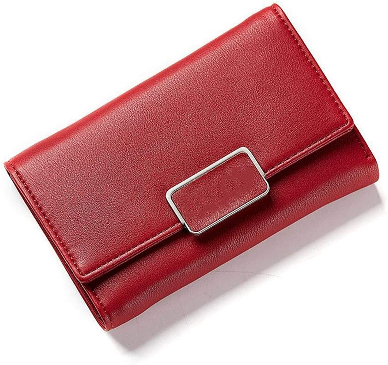 Girls Purse Women's Wallet,Ladies Wallet MultiCard Position in A Large Wallet PU Leather (color   C)