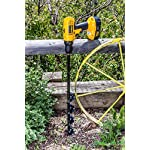 """Power Planter 100% USA Made 3""""x24"""" Extended Length Bulb & Bedding Plant Auger w/ 3/8"""" Hex Drive 13 100% MADE IN THE USA, with USA sourced materials. Made by family farmers for over 30 years for your garden *Patent Pending Design* Non-Slip hex drive"""