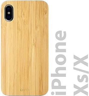 bamboo iphone xs case