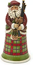Enesco INJim Jim Shore Heartwood Creek Scottish Santa Figurine 6.75 in