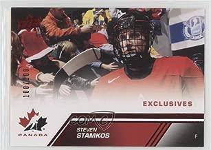 Steven Stamkos #100/100 (Hockey Card) 2013 Upper Deck Team Canada - [Base] - Exclusives #187