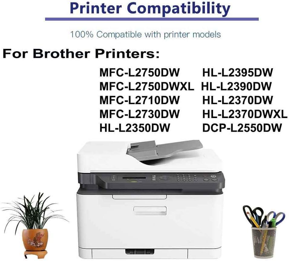 1-Pack Compatible Drum Unit (Black) Replacement for Brother DR730 (DR-730) Drum Kit use for Brother HL-L2390DW HL-L2370DW HL-L2370DWXL DCP-L2550DW Printer