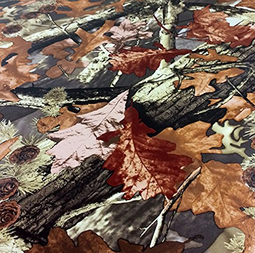 3D Realtree Camouflage Folie Matt Version 3 ,Car Wrapping Luftkanäle, Tarnfolie 1,5m x 1,52m