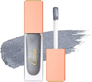 Oulac Metallic Liquid Glitter Eyeshadow, 3D High Pigmented Makeup Eye shadow with Metals Glitter and Glow Non-Greasy 24H P...