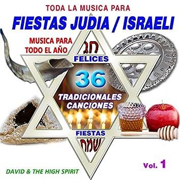Toda la Musica para Fiestas Judias, Vol. 1