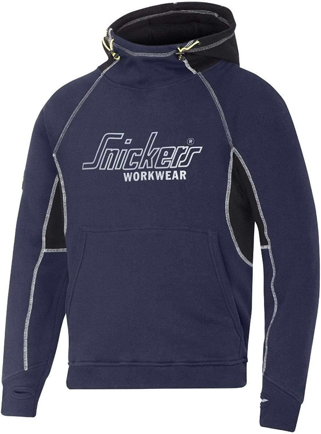 Snickers Mens Logo Heavyweight Durable Soft Comfortable Sweater Hoodie