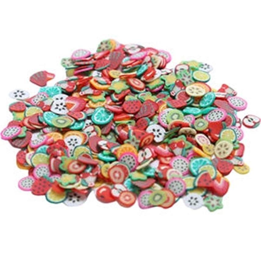 記念碑言語学累積ネイルステッカー ネイルアート 1000個 ネイルデコレーション 多色 フルーツ かわいい オシャレ
