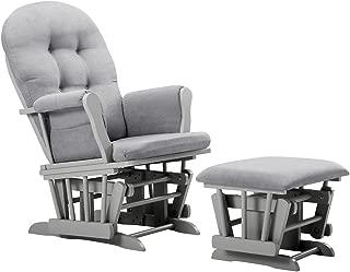 Angel Line Windsor Glider and Ottoman Cushion, Grey